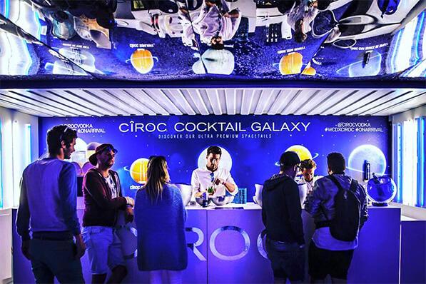 Cîroc cocktial galaxy