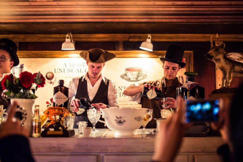 Hendrick's Gin Venuez fair