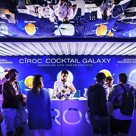 Cîroc cocktail galaxy