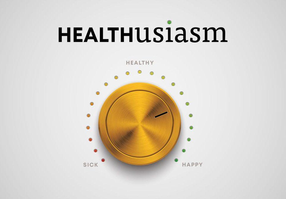 Healthusiasm book cover